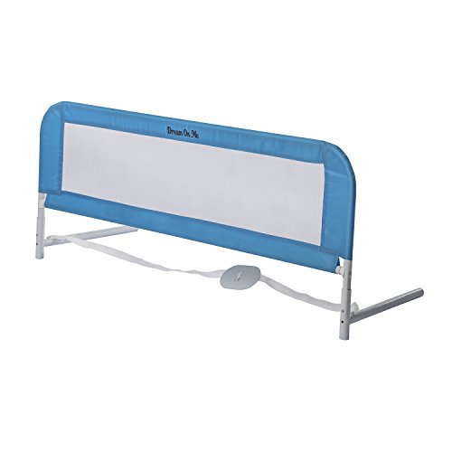 Dream On Me Adjustable Bed Rail, Blue, 3 Pound