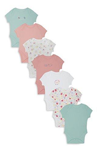 adatto a uomini/donne vendita di liquidazione ordinare on-line Primark Bambine Body Bebè Confezione da 7 - Multi, 9-12 Mesi ...