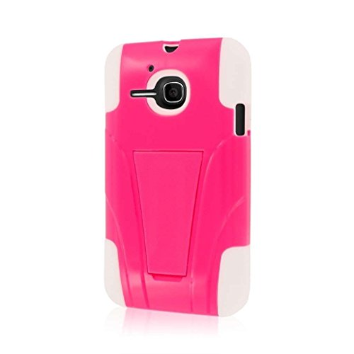 Empire MPERO IMPACT X Series Kickstand Case for Alcatel ONETOUCH Evolve - Retail Packaging - Hot Pink