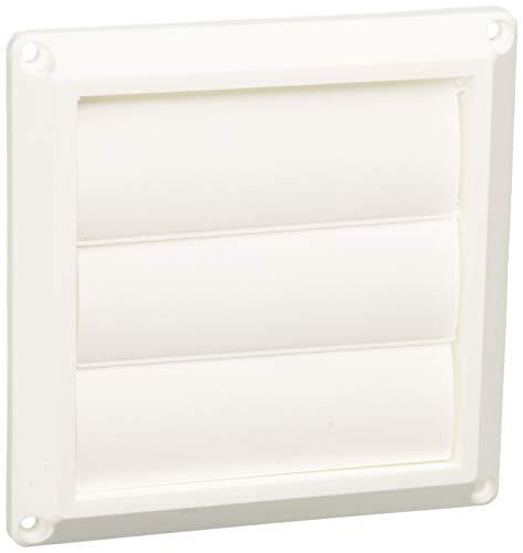 Lambro 1475W White Plastic Louvered Vent, 3-Inch ()