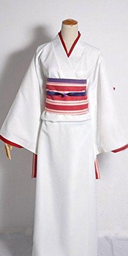 [FOCUS-COSTUME Noragami Nora Kimono Suit Cosplay Costume] (Noragami Nora Costume)