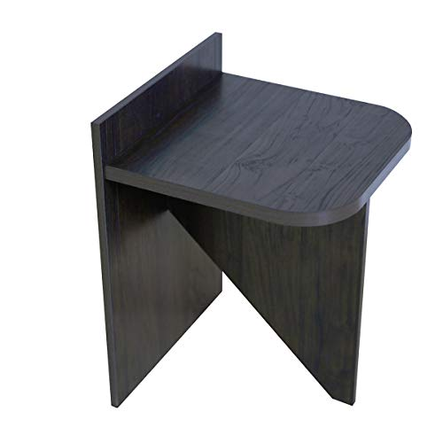 Roomfitters Side End Table, Wall Side Table, Dark ()