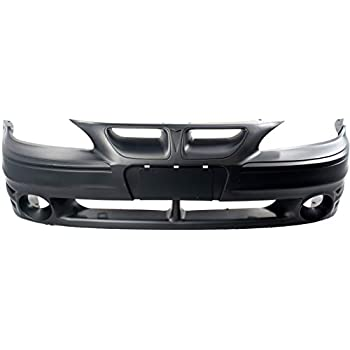 GM1000574 Primered For Pontiac Grand Am 1999-2002 New Front Bumper Cover