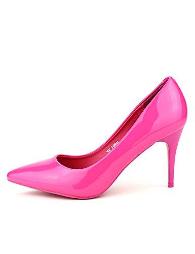 Fuschia Femme Fushia Escarpins Cendriyon Chaussures Verni EXQUILY PBFwzxAqaZ