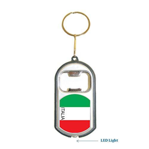 Amazon.com: Bandera de Italia 3 en 1 abrebotellas Luz LED ...