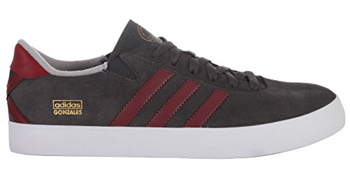 Adidas Mænds Originaler Gonz Pro Skate Sko, Solid Grå, 13 M Os