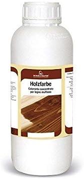 Tinte concentrado para madera Universal colorante ideal para pigmentar barnices de uso interior - 250 ml - (Verde 134)