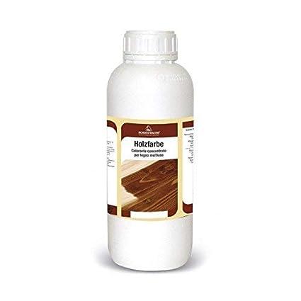 Tinte concentrado para madera Universal colorante ideal para pigmentar barnices de uso interior - 250 ml - (Rojo 125) Borma Wachs