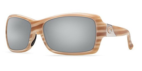 Mirror Wave 580 Glass (Costa Del Mar Sunglasses - Islamorada- Glass / Frame: Morena Lens: Polarized Silver Mirror Wave 580 Glass)