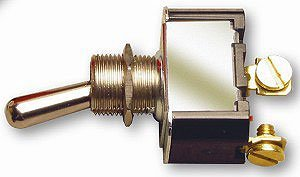 Joes Racing Products 46102 Toggle Switch with Rubber Boot Weather Resistant, 1 Pack