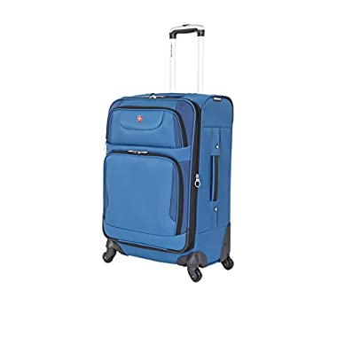SwissGear Travel Gear 21.5  Expandable Spinner (Blue with Black)
