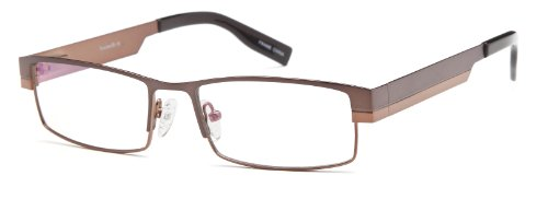 Men's Two Tone Brown Glasses Frames Prescription Eyeglasses Size - 2 Tone Frames Eyeglass