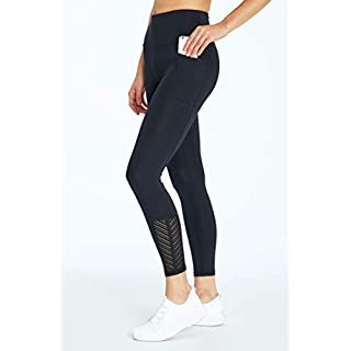 Bally Total Fitness Women's Chevy High Rise Pocket Ankle Legging