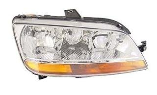 Right Driver Side Headlamp Front Head Light (With Amber Indicator With Fog Lamp):