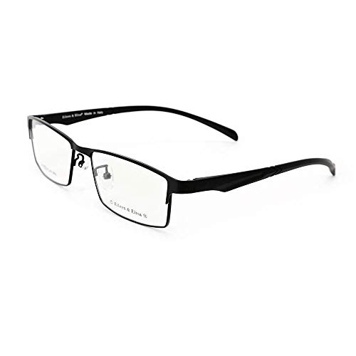 - Eileen&Elisa Unisex Lightweight Titanium Glasses for Men Non Prescription Eyewear Eyeglasses for Women