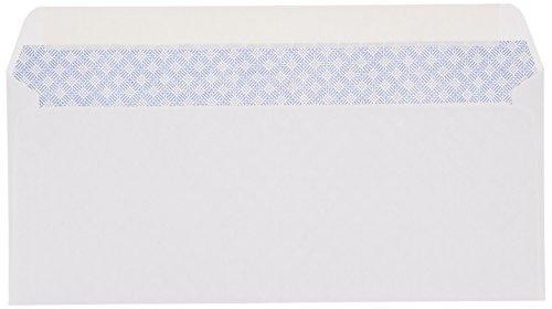 AmazonBasics #10 Security-Tinted Envelope, Peel & Seal, White, 500-Pack Photo #3