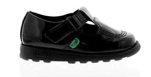 Enfants Lanière École En 6 Fragma Filles Chaussures Kickers Noires Noir T Uk Inf Tailles Cuir 12 5nfqY4wfF0