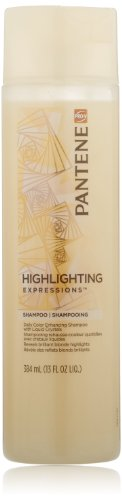 Pantene Pro-V Highlighting Expressions Daily Color Enhancing Shampoo With Liquid Crystals 13 Oz (Pack of 3) - Pantene Pro V Color Enhancing Shampoo
