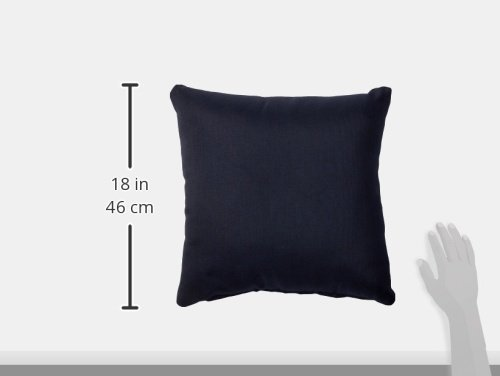"""TK Classics PILLOW-NAVY-S-2x Outdoor Square Throw Pillows, Set of 2, Navy - Luxury Patio Furniture Designed to create luxurious outdoor living environment 6"""" x 16"""" x 16"""" - patio, outdoor-throw-pillows, outdoor-decor - 318E69A7PGL -"""