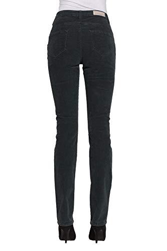 Carrera Liso Para Jeans Pantalones Color Es 40 Mujer Terciopelo 76q7rwAx