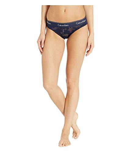 - Calvin Klein Women's Modern Cotton Bikini Panty, Floral Burnout Blue, M