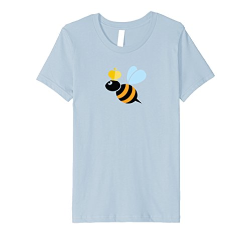 Kids Premium Queen Bee Costume Fitted Shirt for Women and Kids 8 Baby (Queen Bee Infant Costumes)