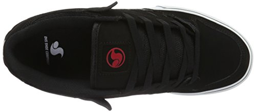 de DVS Red Skateboarding Unisex CT 960 Black Grey Zapatillas Gris Shoes Militia Adulto I4qrAI