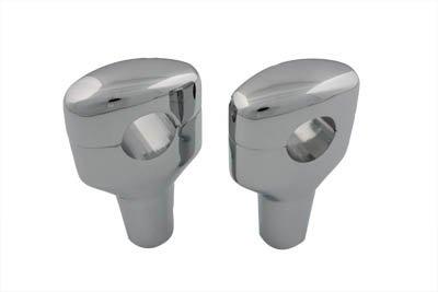 V-Twin 26-0252 Chrome 3-1/2