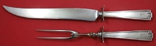 Etruscan By Gorham Sterling Silver Roast Carving Set 2-Piece