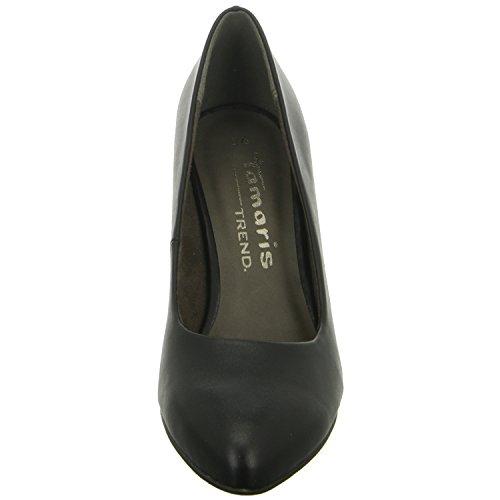 Tamaris22416 - Zapatos de Tacón Mujer Schwarz (Black Matt)