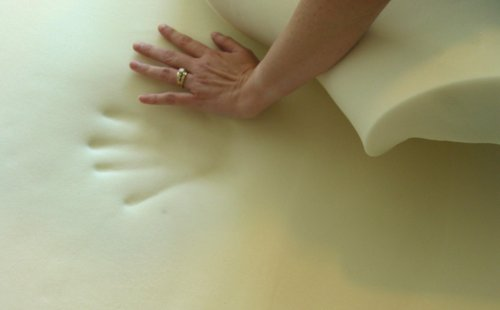 2-Inch Visco Elastic Memory Foam Mattress Topper, King - King Visco Elastic Memory Foam