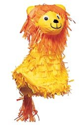 Lion Pinata with Pull String Kit