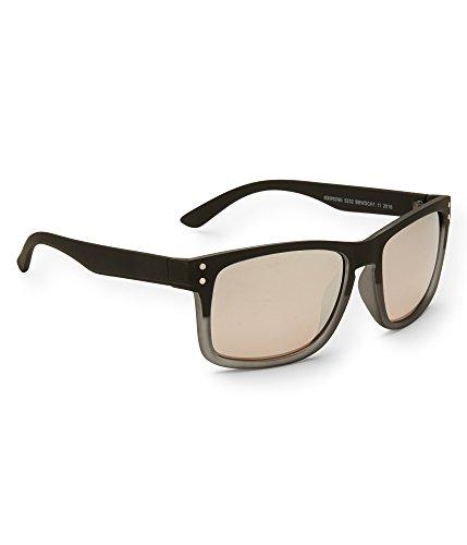 Aeropostale Men's Two-Tone D-Frame Sunglasses Black - Aeropostale Sunglasses
