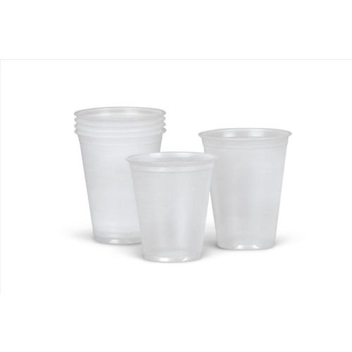 Medline Disposable Plastic Drinking Translucent
