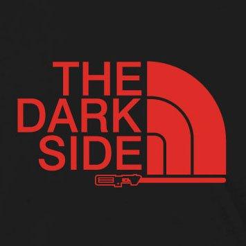 The Dark Side - Damen T-Shirt, Größe: M, Farbe: braun