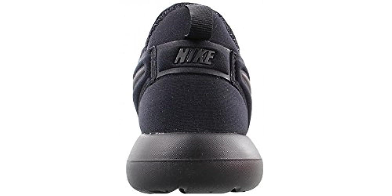 Nike Boys Roshe Two (Gs) Low-Top Sneakers, Black (Black/Black), 3 UK 35 1/2 EU