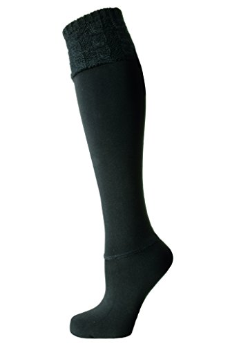 Aura Borealis Women's Soft & Luxurious Winter Faux Fur Lined Water Resistant Boot Sock Liners