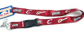 PSG INC Cleveland Cavaliers Breakaway Lanyard with Key Ring