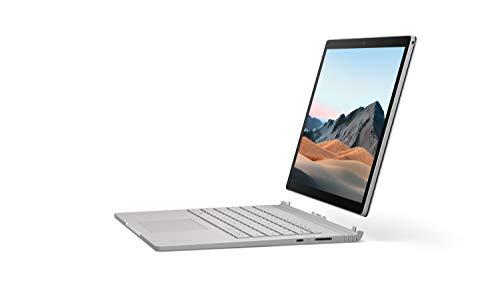 Microsoft Surface Book 3 13.5-Inch Notebook (Silver) – (Intel i7, 16GB RAM, 256GB SSD, 1650 NVIDIA Graphics, Windows 10…