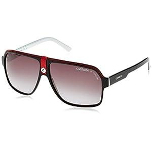 Carrera 33 Rectangular Sunglasses, BKCRWHBKW