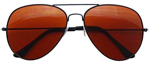 80's Classic Casual Retro Driving Blue Blocking Lens Aviator - Blue Light Sunglasses Blocking