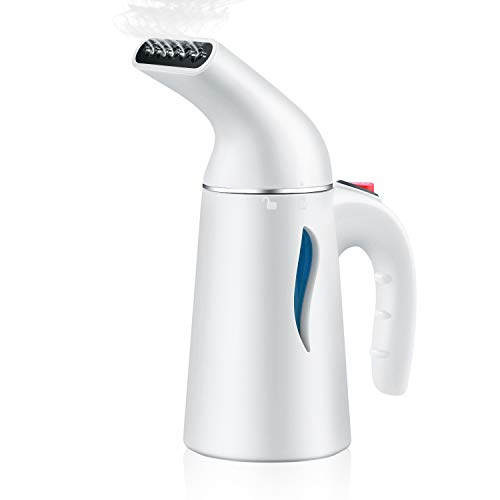 LAPUTA Steamer for Clothes by, Clothes Steamer, Perfect for Travel/Home. Amazing Handheld Garment Steamer, Powerful, 60 Seconds Heat-Up, Fabric Steamer with Automatic Shut-Off Safety Protection