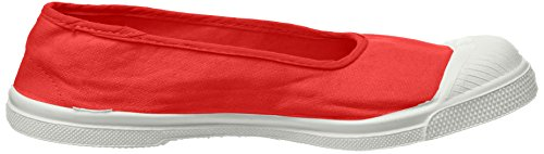 Sneaker Donna Rouge Ballerine Rosso Bensimon Tennis R1AxwqS4q