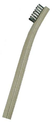 Gordon Brush 30Ss 3 Row Stainless Scratch Brush44; Case Of 200