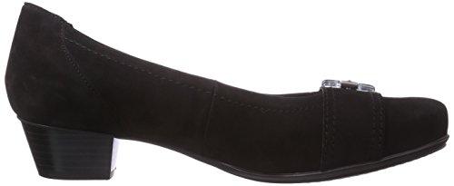 ara Nancy - zapatos de tacón cerrados de cuero mujer negro - Schwarz (schwarz 01)
