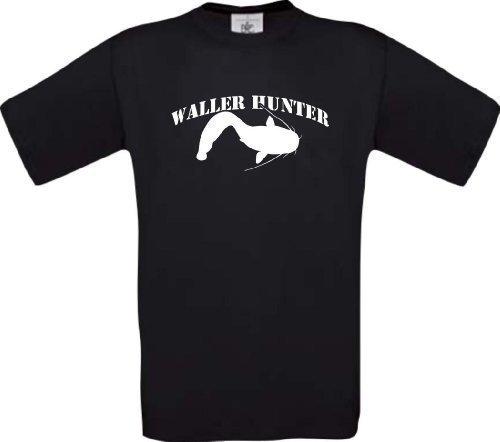 T-Shirt Angeln Fischen Fischer Waller Hunter Kultstyle S-XXL