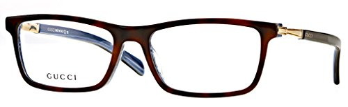 GUCCI 3253 Eyeglasses Streamlined Styles And Bold Frames With Rich, Exciting - Eyeglasses Gucci Tortoise