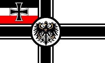 Imperial War alférez alemán Alemania 1871-1919 de la bandera de 152, 4 cm x3: Amazon.es: Hogar