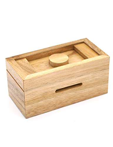 Halloween Brain Teasers (A Gift Cash Box with Secret Compartments in Designs of Wood for Money Puzzle Gift Boxes to be a Surprise Money Wooden Box Holder and Challenging Puzzle Brain Teasers for)