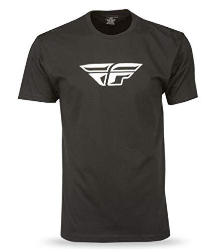 Fly Racing F-Wing T-Shirt-Black-XL
